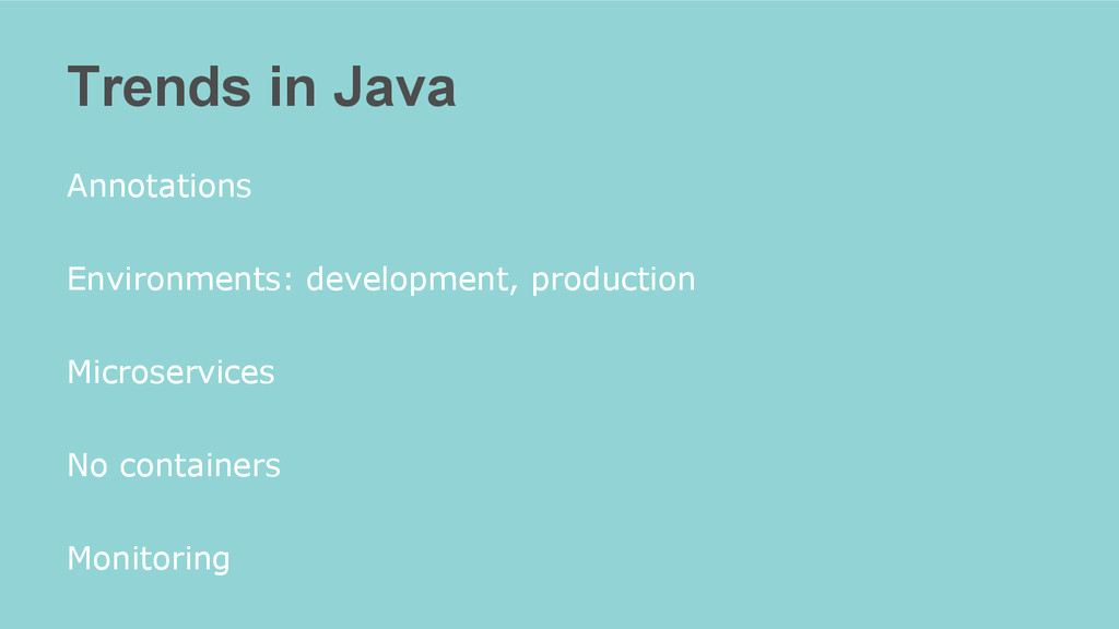 Trends in Java Annotations Environments: develo...