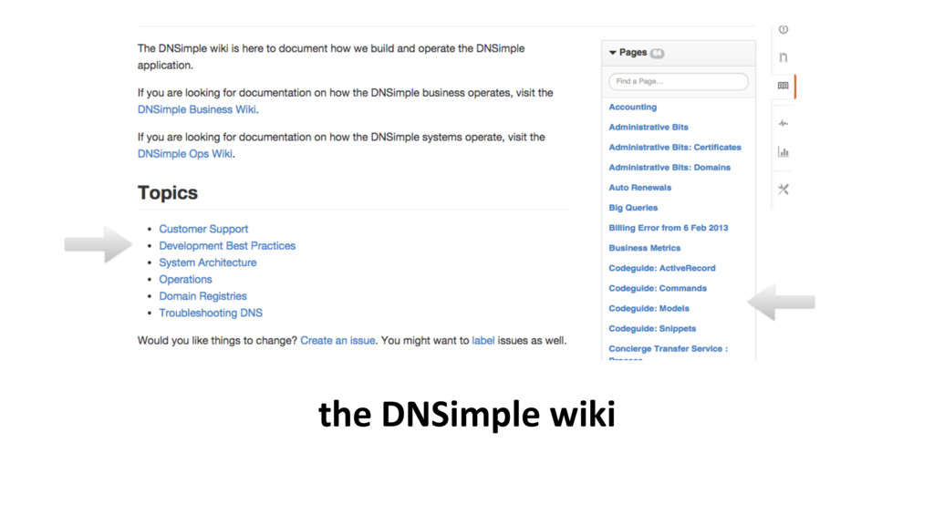 the DNSimple wiki