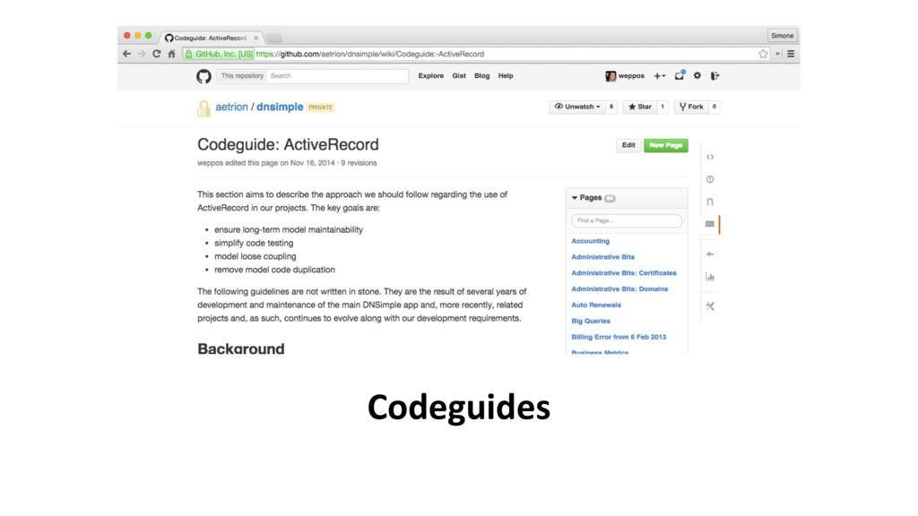 Codeguides