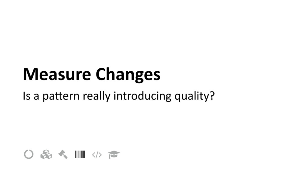 Measure Changes Is a pa9ern really introducing ...