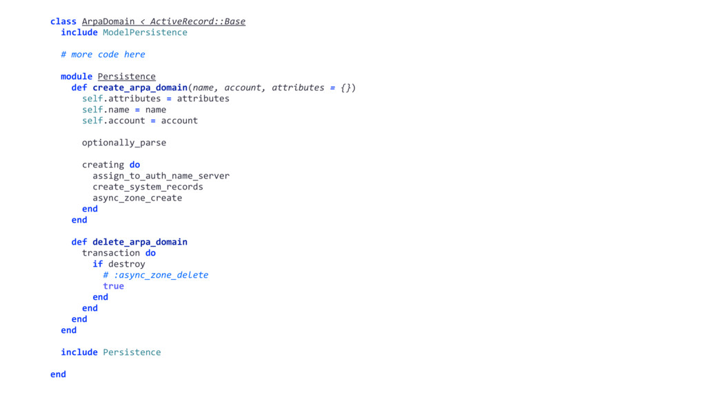 class ArpaDomain < ActiveRecord::Base include M...