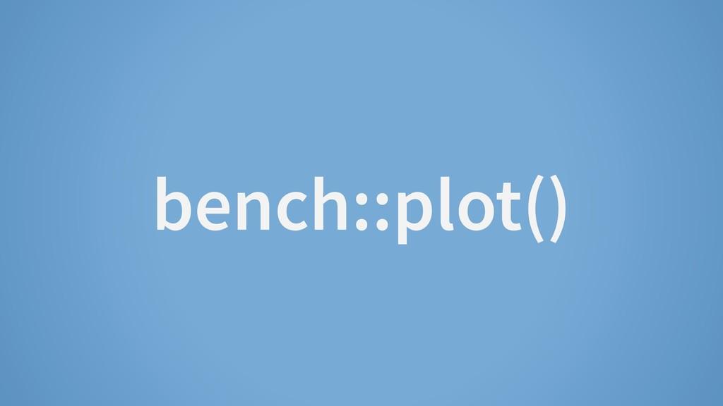 bench::plot()