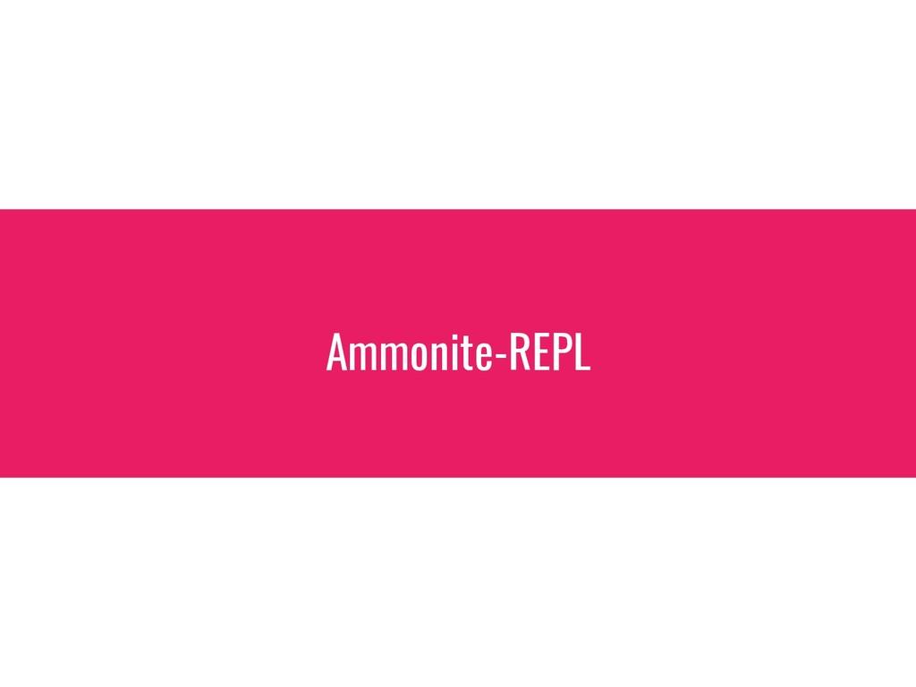 Ammonite-REPL