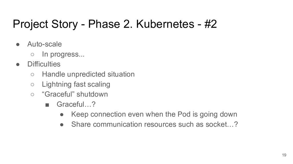 Project Story - Phase 2. Kubernetes - #2 ● Auto...