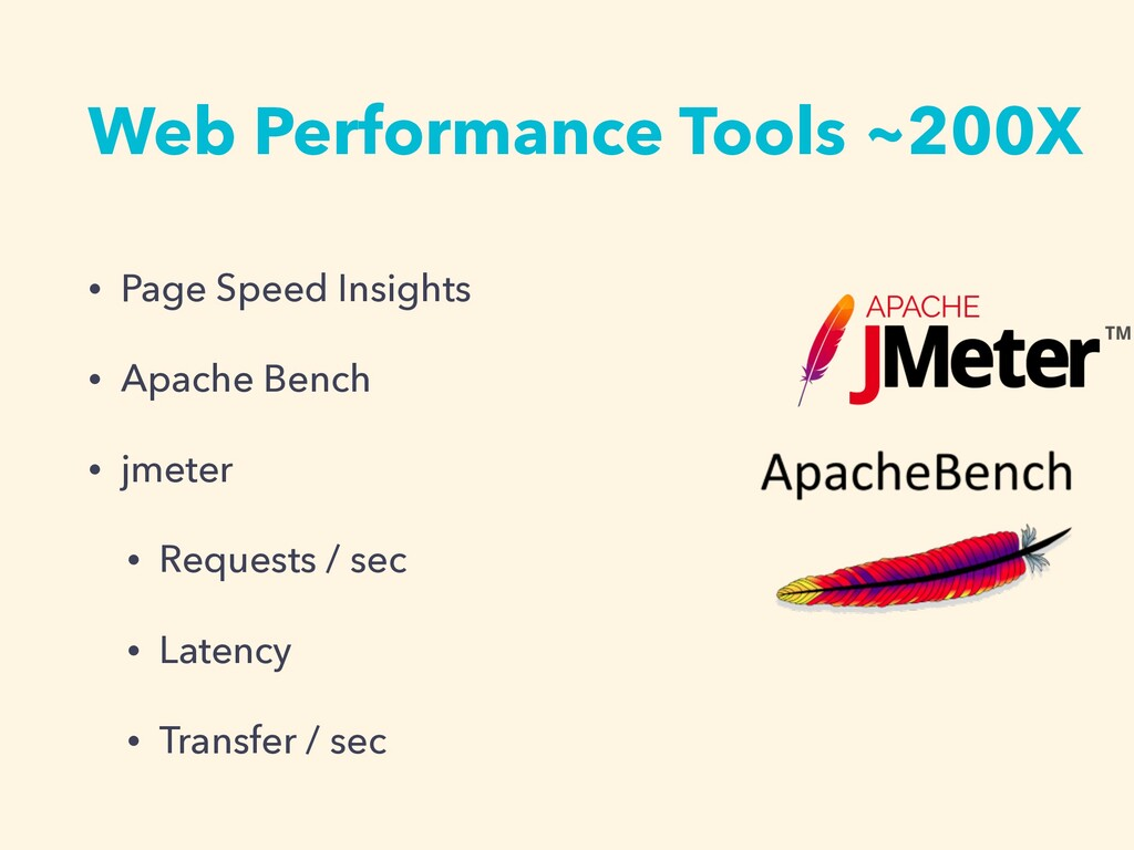 Web Performance Tools ~200X • Page Speed Insigh...