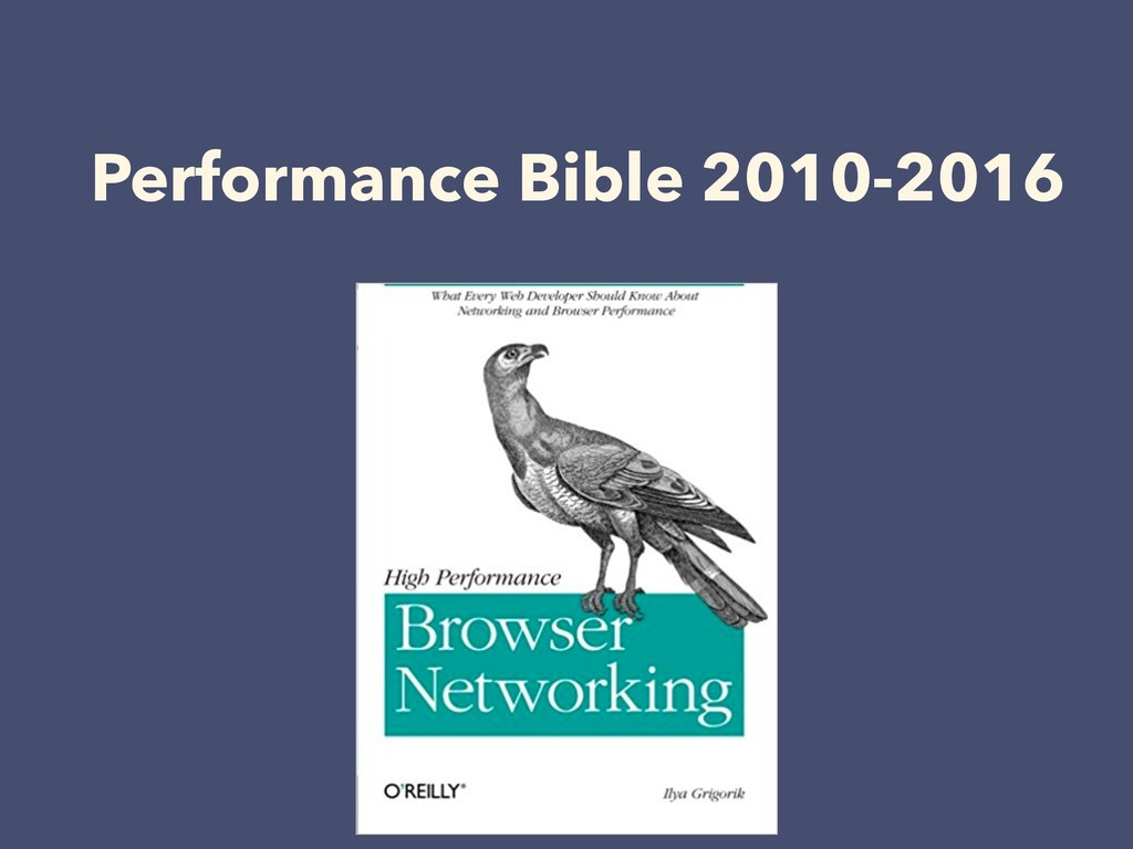 Performance Bible 2010-2016