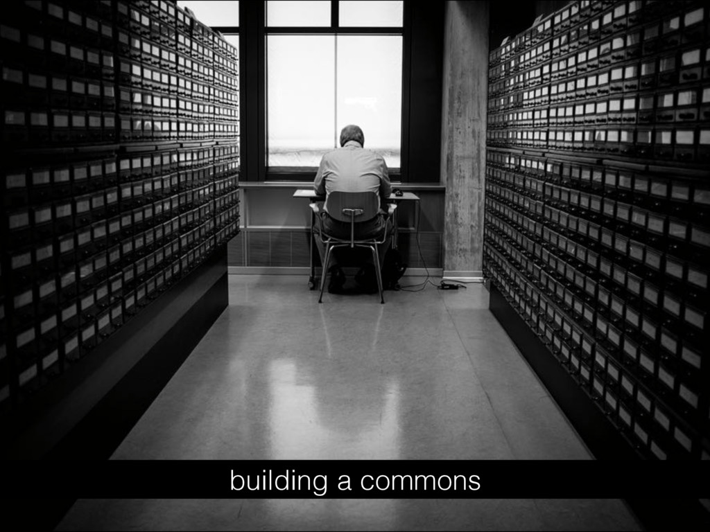 building a commons
