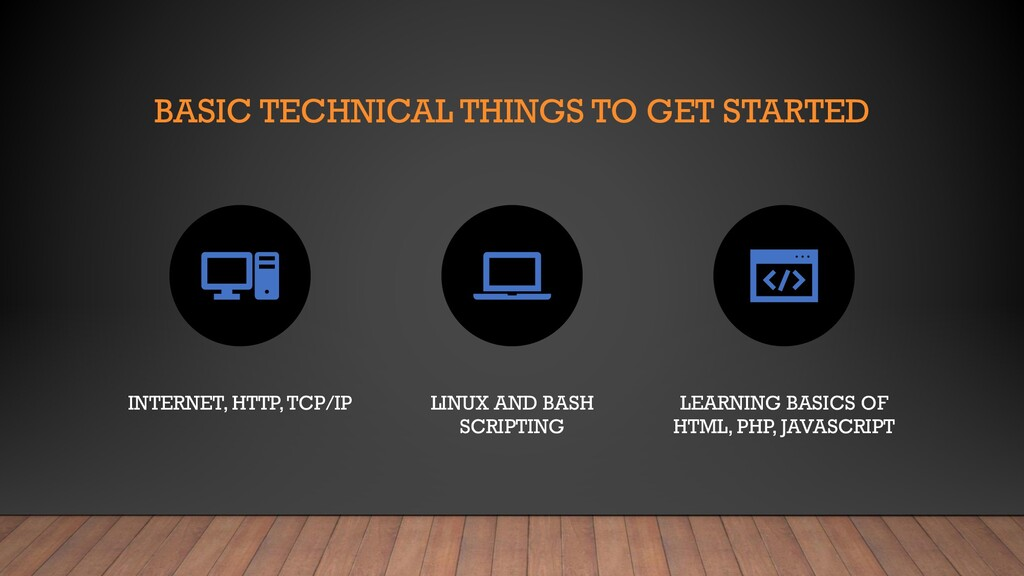 BASIC TECHNICAL THINGS TO GET STARTED INTERNET,...