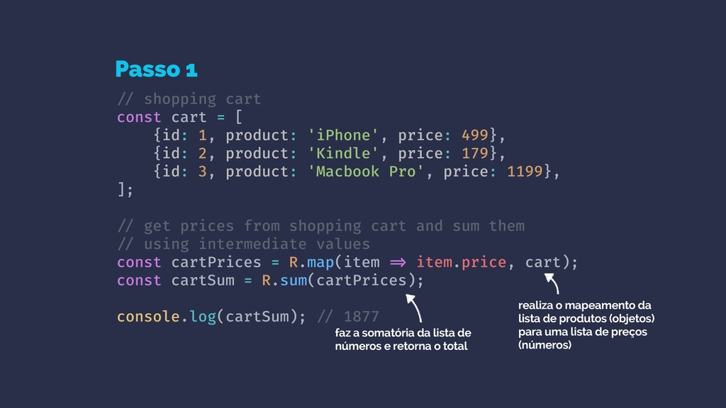 !// shopping cart const cart = [ {id: 1, produc...