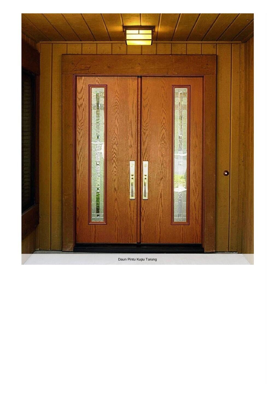 Gambar Pintu Kupu Tarung Minimalis Terbaru Speaker Deck