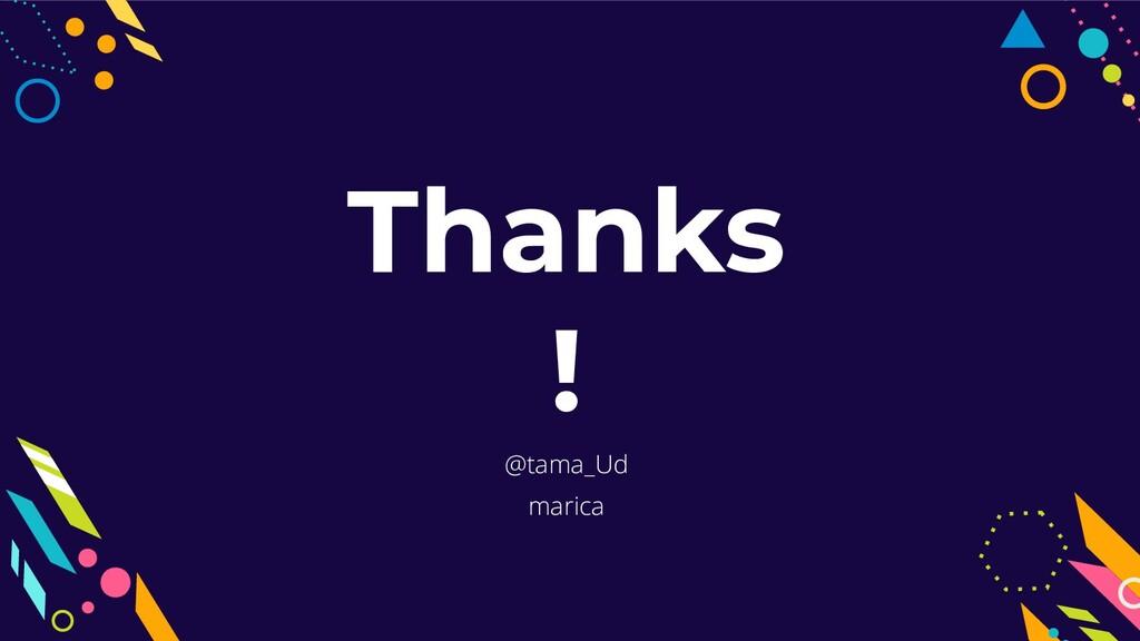 @tama_Ud marica Thanks !
