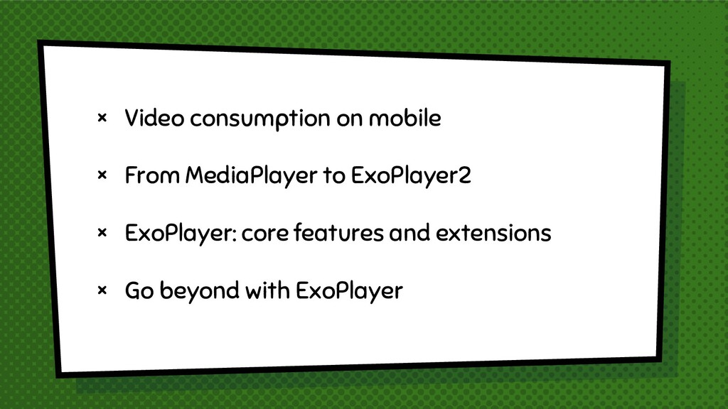 × Video consumption on mobile × From MediaPlaye...