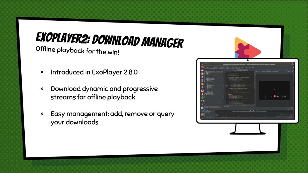 × Introduced in ExoPlayer 2.8.0 × Download dyna...