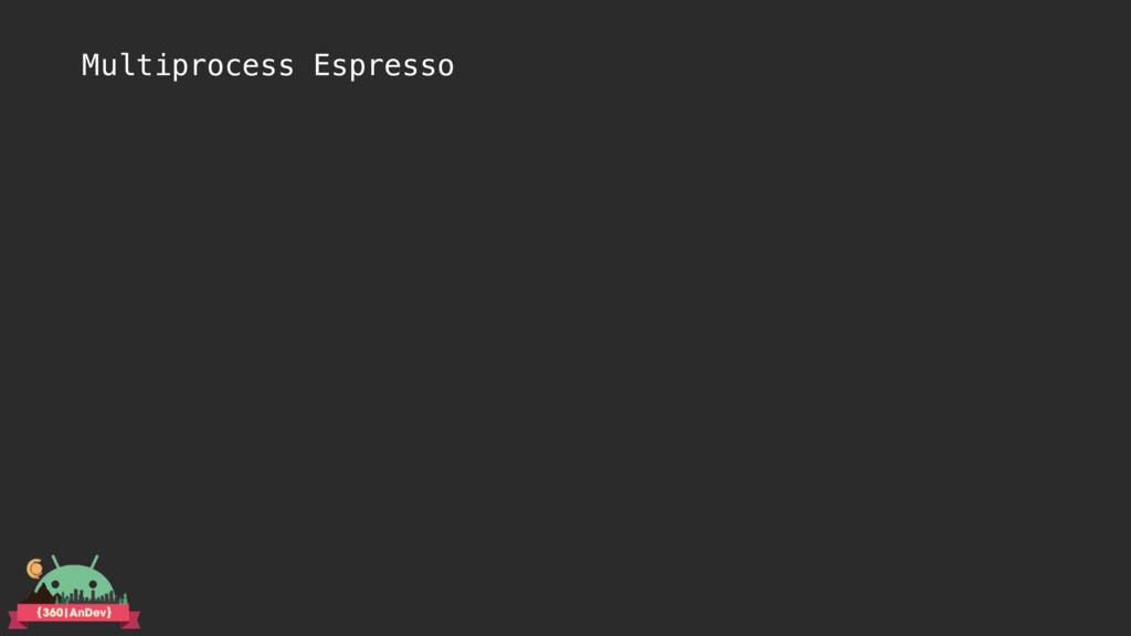 Multiprocess Espresso