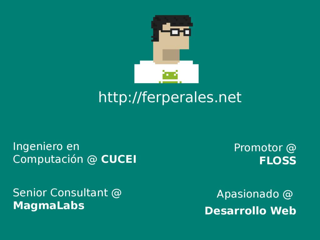 Ingeniero en Computación @ CUCEI Senior Consult...