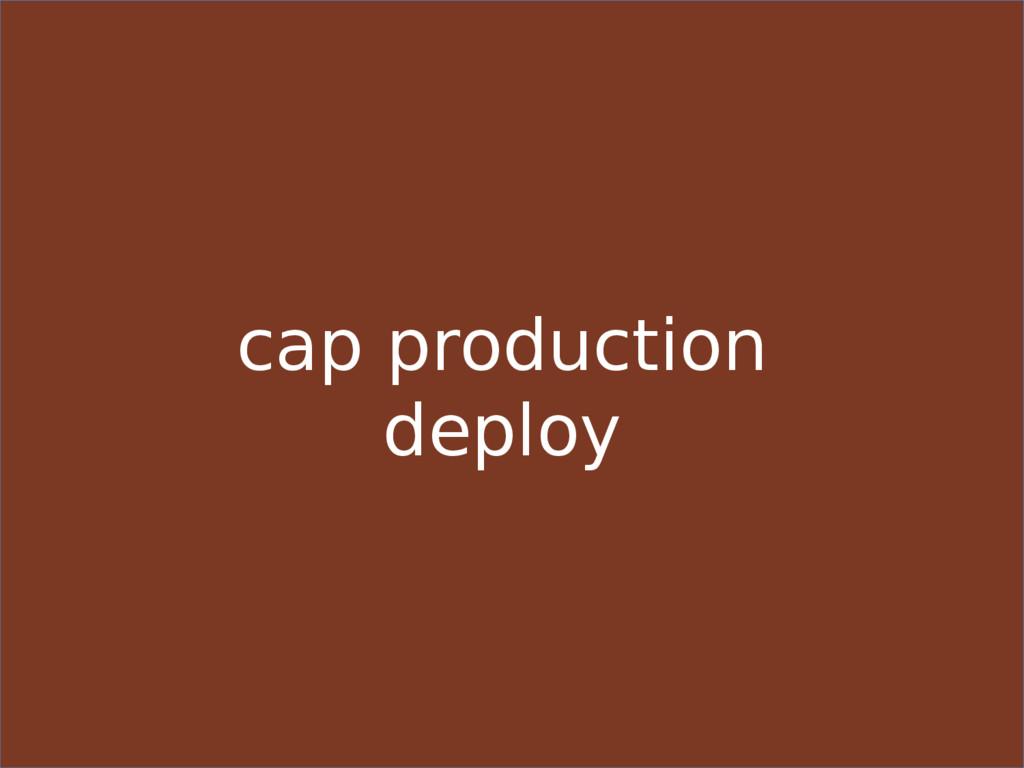cap production deploy