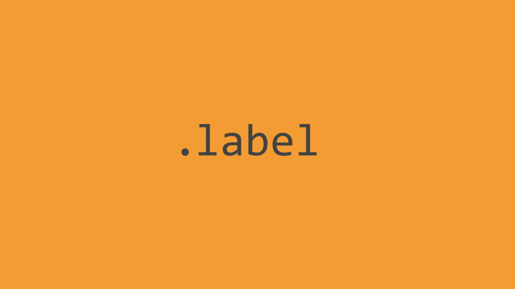label .