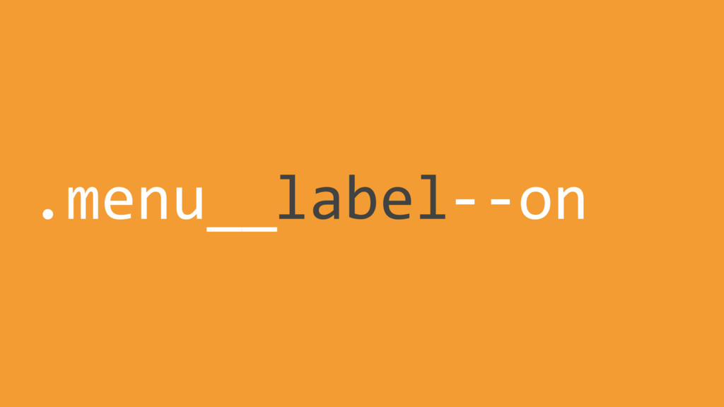 label .menu__ --on