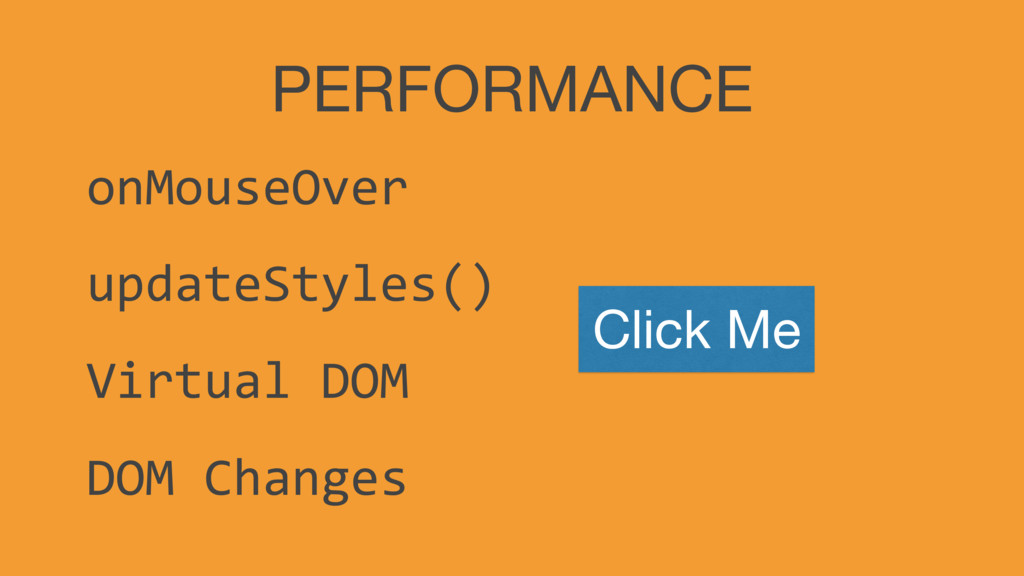 PERFORMANCE onMouseOver updateStyles() Virtual ...