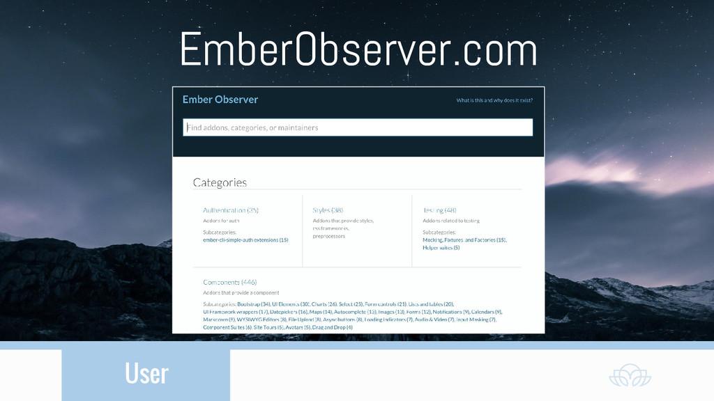 User EmberObserver.com