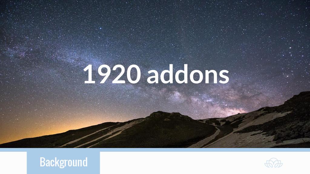 Background 1920 addons