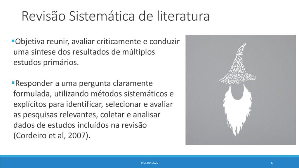 INCT.DD| 2020 6 Revisão Sistemática de literatu...