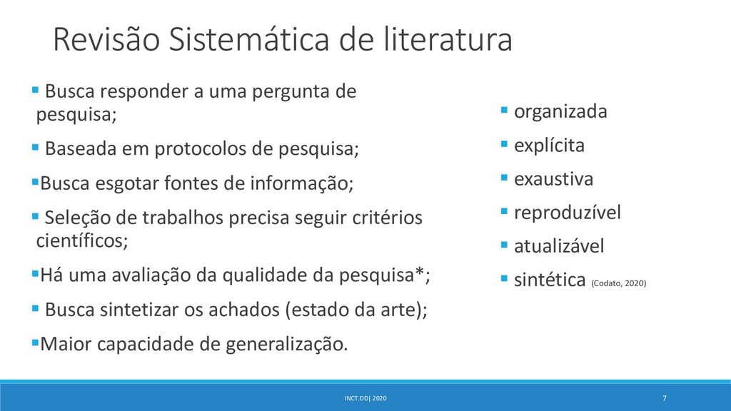INCT.DD| 2020 7 Revisão Sistemática de literatu...