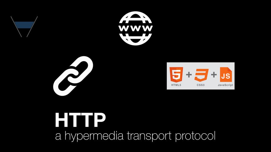 a hypermedia transport protocol HTTP