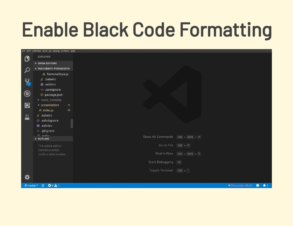 Enable Black Code Formatting