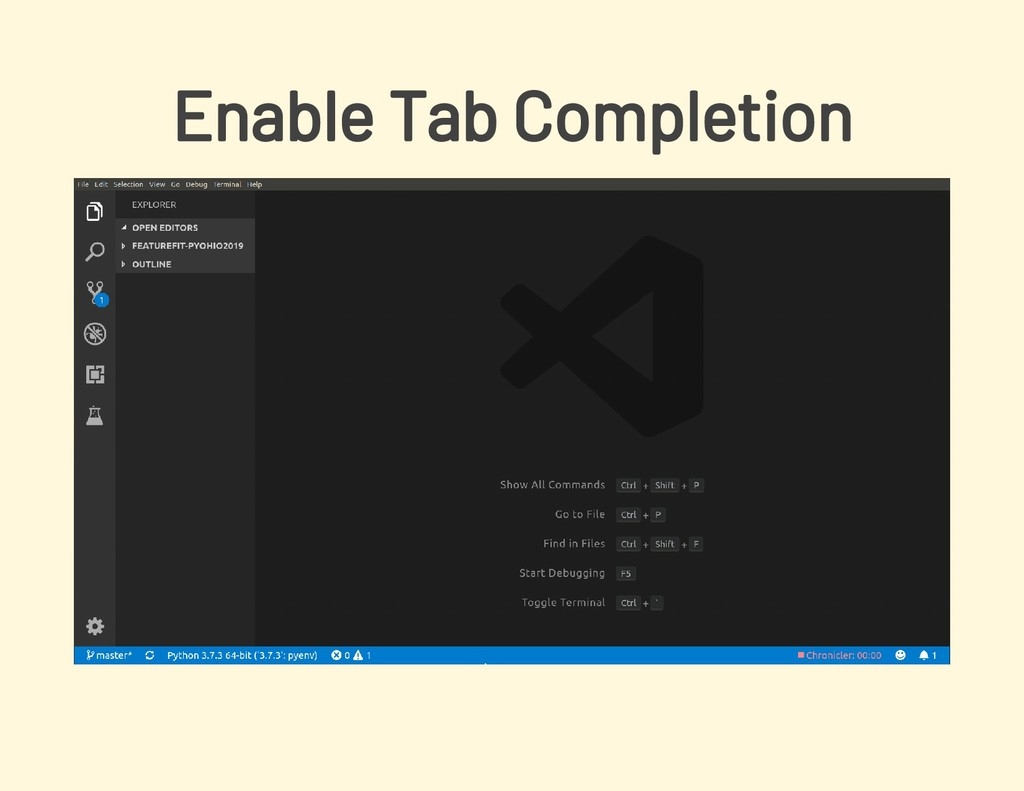 Enable Tab Completion