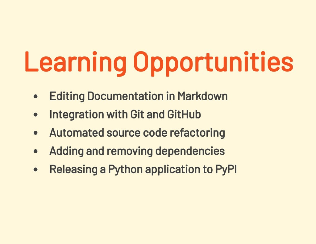 Editing Documentation in Markdown Integration w...