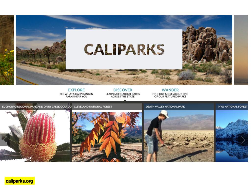 caliparks.org