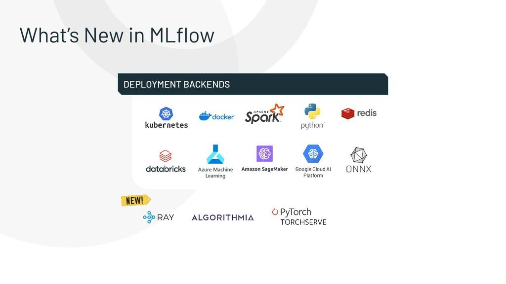 What's New in MLflow Google Cloud AI Platform DE...