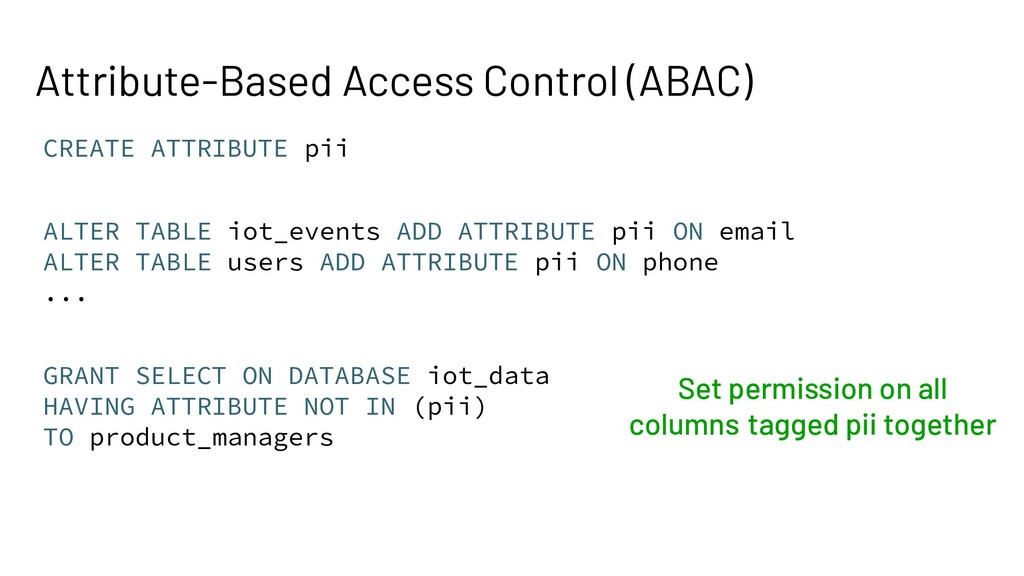 Attribute-Based Access Control (ABAC) CREATE AT...