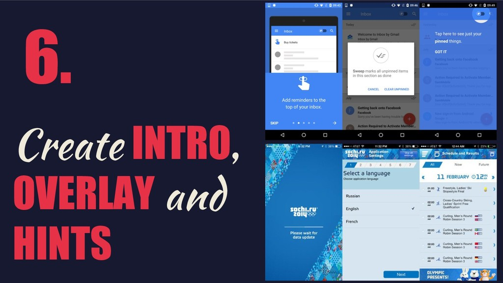 @shemag8 Create INTRO, OVERLAY and HINTS 6.