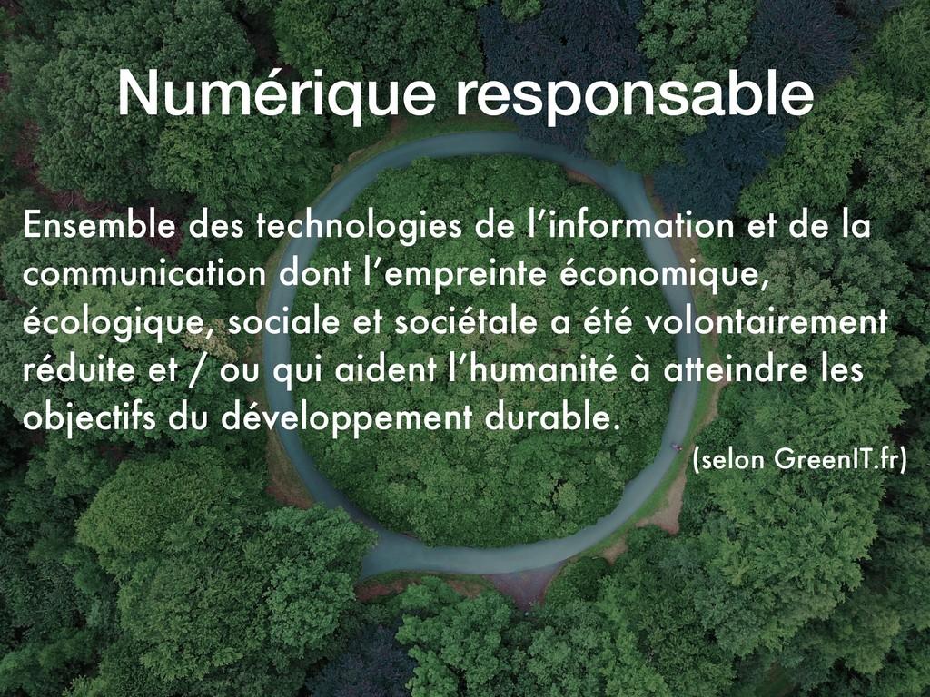 Ensemble des technologies de l'information et d...