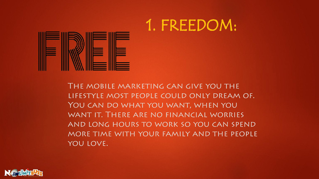 1. FREEDOM: