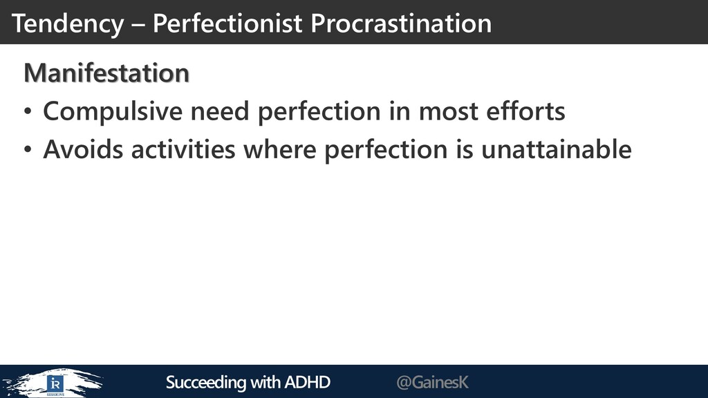Succeeding with ADHD @GainesK Manifestation • C...