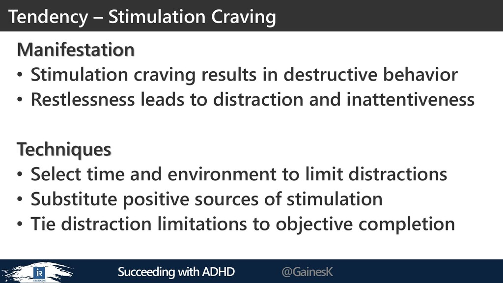 Succeeding with ADHD @GainesK Manifestation • S...