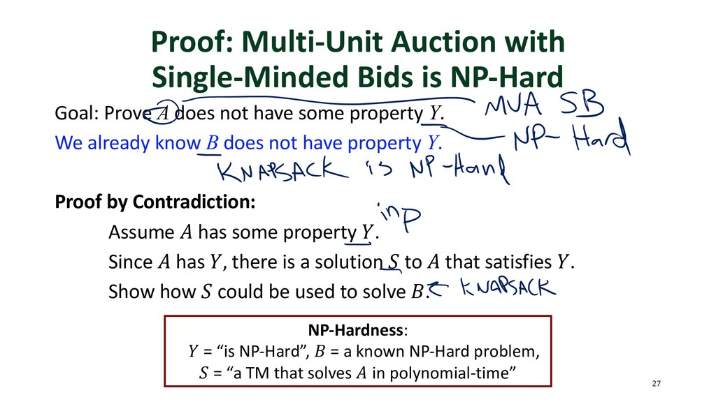 Proof: Multi-Unit Auction with Single-Minded Bi...