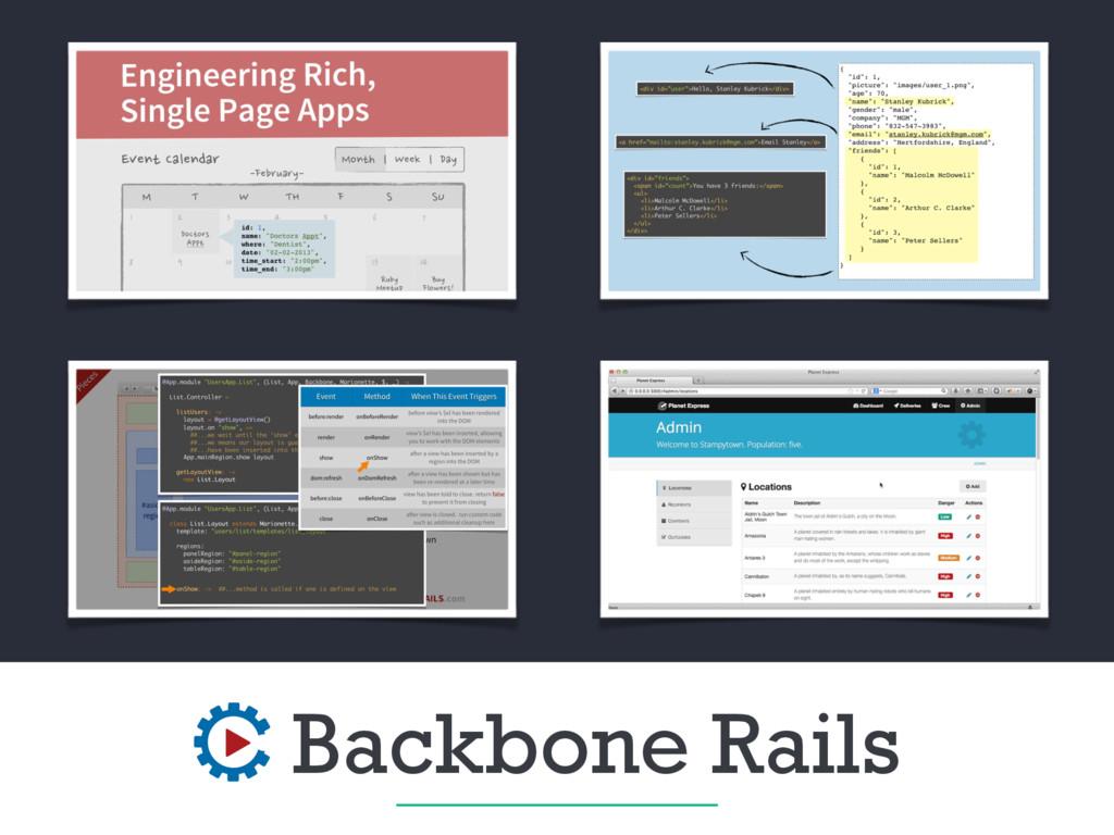 Backbone Rails