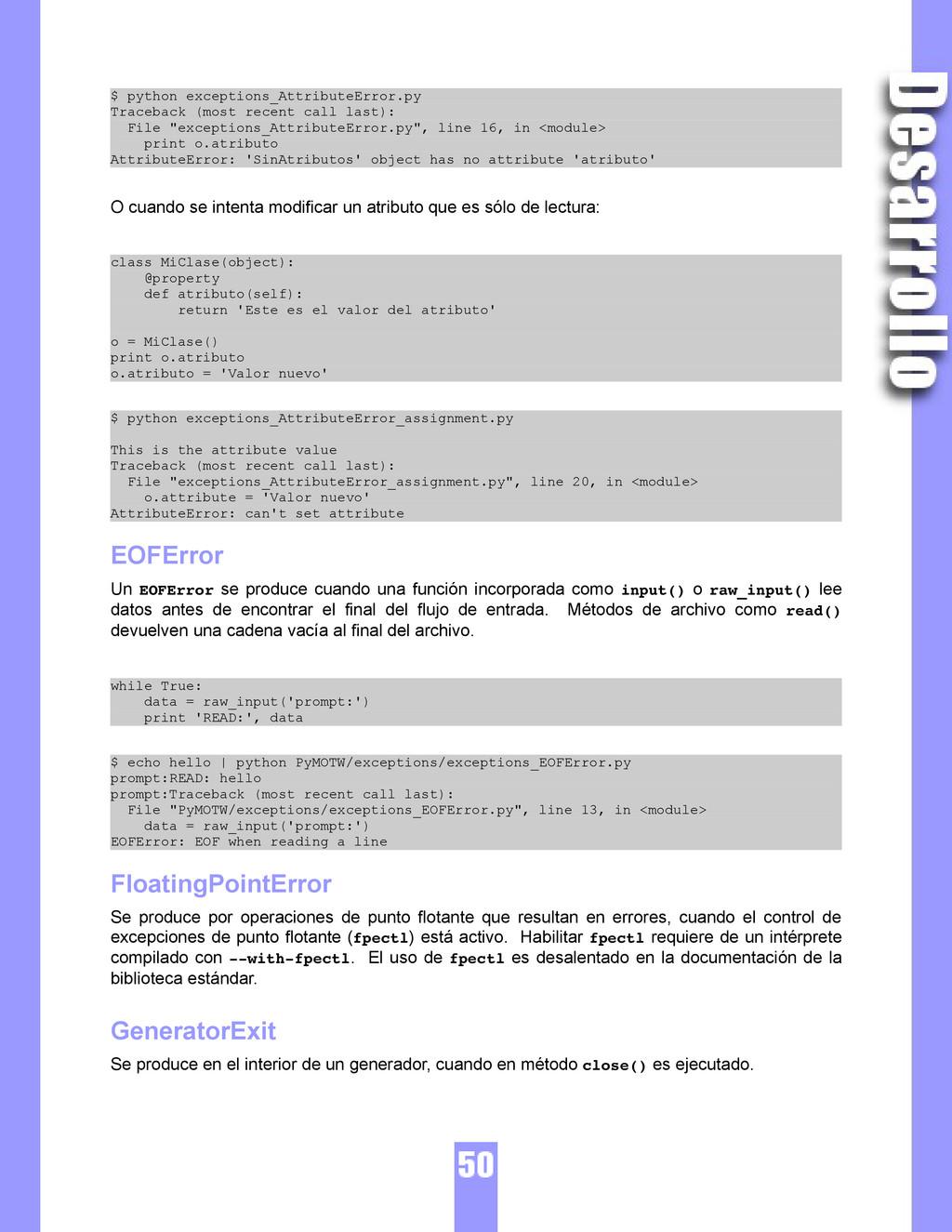 $ python exceptions_AttributeError.py Traceback...