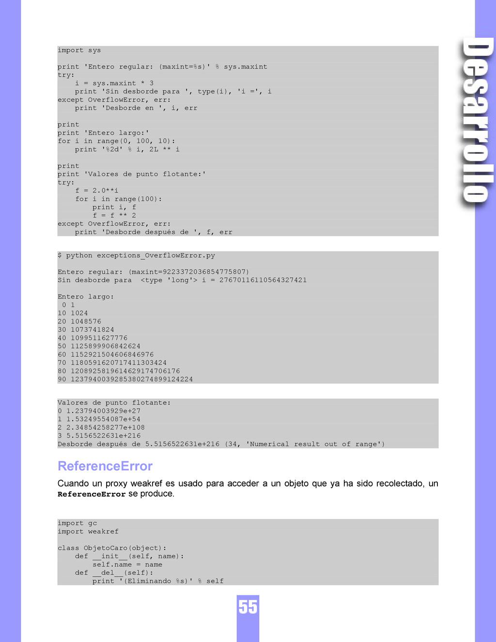 import sys print 'Entero regular: (maxint=%s)' ...