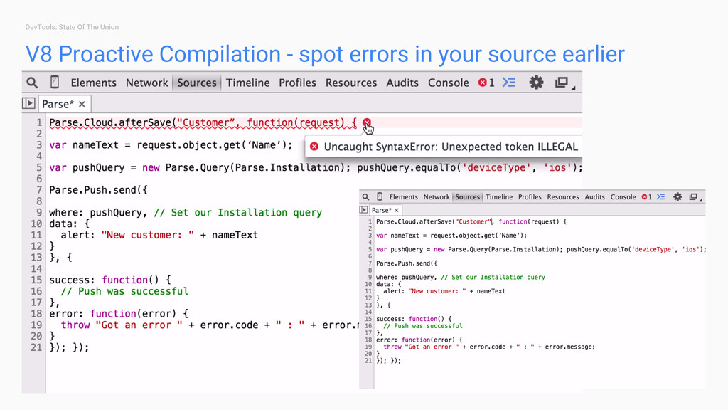DevTools: State Of The Union V8 Proactive Compi...