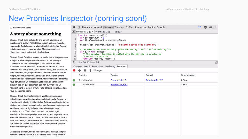DevTools: State Of The Union New Promises Inspe...