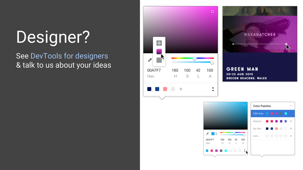 See DevTools for designers & talk to us about y...