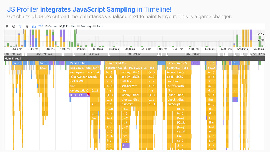 JS Sampling JS Profiler integrates JavaScript S...