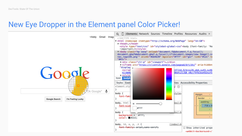 DevTools: State Of The Union New Eye Dropper in...