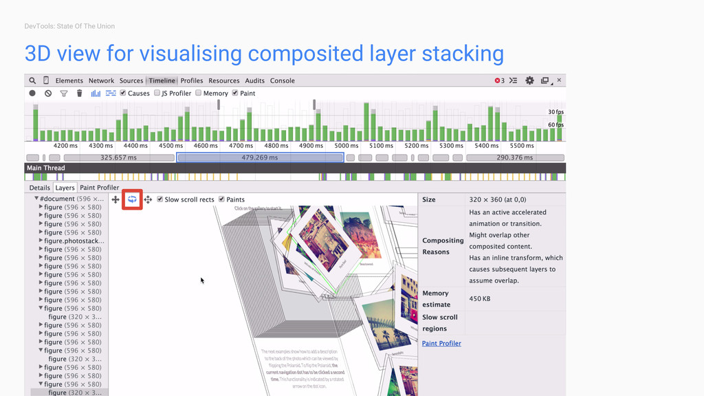 DevTools: State Of The Union 3D view for visual...
