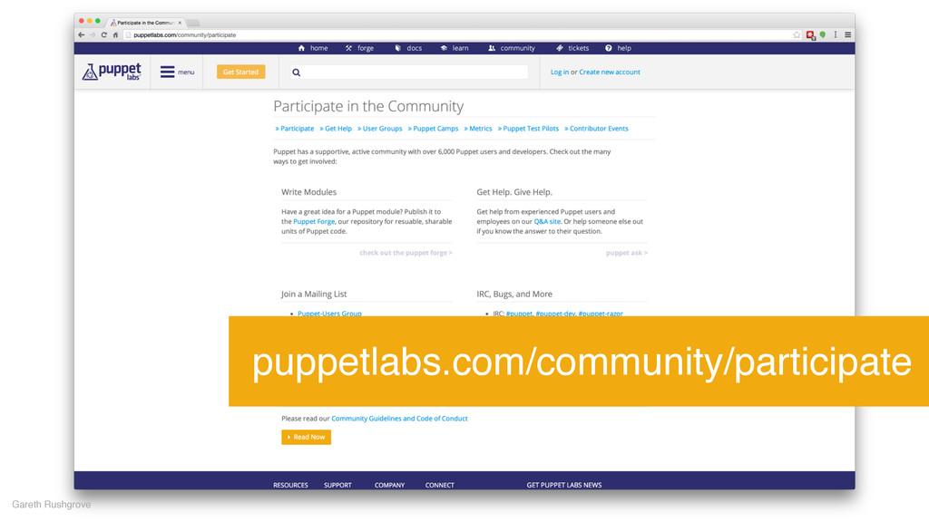 Gareth Rushgrove puppetlabs.com/community/parti...
